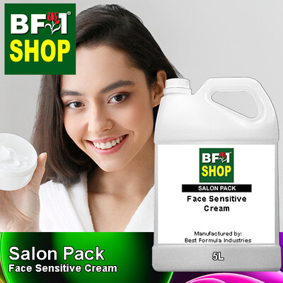 Salon Pack - Face Sensitive Cream - 5L