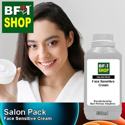 Salon Pack - Face Sensitive Cream - 500ml