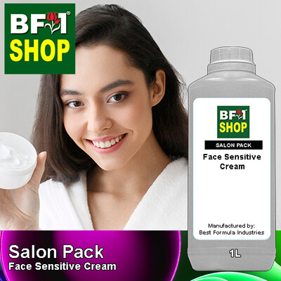 Salon Pack - Face Sensitive Cream - 1L