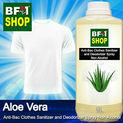 Anti-Bac Clothes Sanitizer and Deodorizer Spray (ABCSD) - Non Alcohol with Aloe Vera - 1L