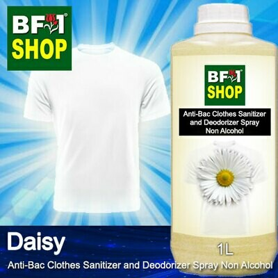 Anti-Bac Clothes Sanitizer and Deodorizer Spray (ABCSD) - Non Alcohol with Daisy - 1L
