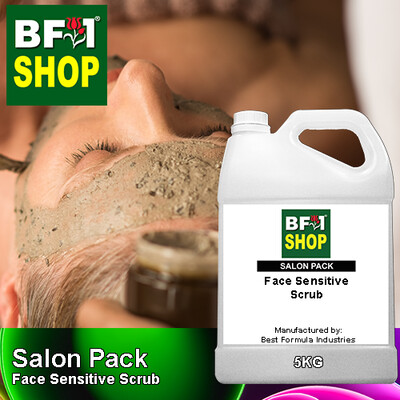 Salon Pack - Face Sensitive Scrub - 5KG