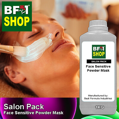 Salon Pack - Face Sensitive Powder Mask - 1kg