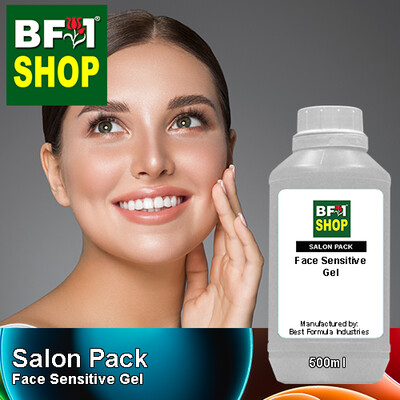 Salon Pack - Face Sensitive Gel - 500ml