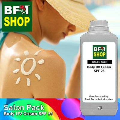Salon Pack - Body UV Cream SPF 25 - 1L
