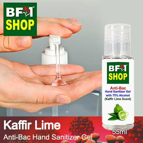 Anti-Bac Hand Sanitizer Gel with 75% Alcohol (ABHSG) - lime - Kaffir Lime - 55ml
