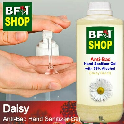 Anti-Bac Hand Sanitizer Gel with 75% Alcohol (ABHSG) - Daisy - 1L