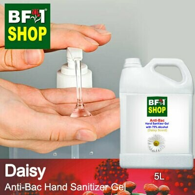 Anti-Bac Hand Sanitizer Gel with 75% Alcohol (ABHSG) - Daisy - 5L