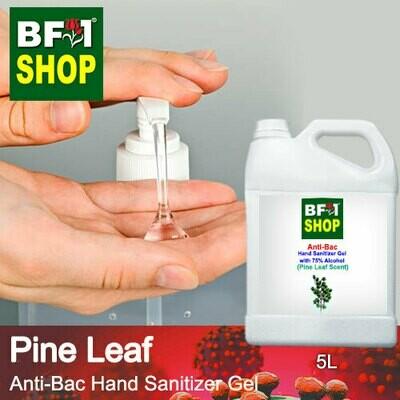 Anti-Bac Hand Sanitizer Gel with 75% Alcohol (ABHSG) - Pine Leaf - 5L