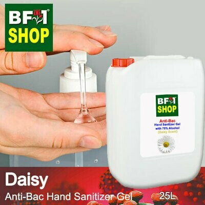 Anti-Bac Hand Sanitizer Gel with 75% Alcohol (ABHSG) - Daisy - 25L