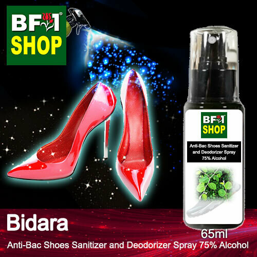 Anti-Bac Shoes Sanitizer and Deodorizer Spray (ABSSD) - 75% Alcohol with Bidara - 65ml