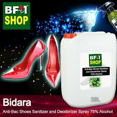 Anti-Bac Shoes Sanitizer and Deodorizer Spray (ABSSD) - 75% Alcohol with Bidara - 25L