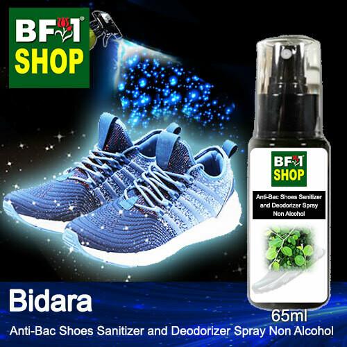 Anti-Bac Shoes Sanitizer and Deodorizer Spray (ABSSD) - Non Alcohol with Bidara - 65ml
