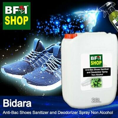 Anti-Bac Shoes Sanitizer and Deodorizer Spray (ABSSD) - Non Alcohol with Bidara - 25L
