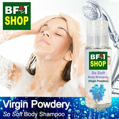 BF1 So Soft Body Shampoo (SSBS) - Virgin Powdery - 55ml