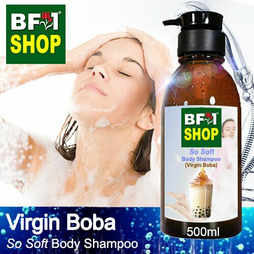 BF1 So Soft Body Shampoo (SSBS) - Virgin Boba - 500ml