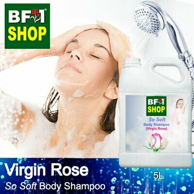BF1 So Soft Body Shampoo (SSBS) - Virgin Rose - 5L