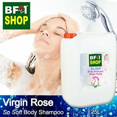 BF1 So Soft Body Shampoo (SSBS) - Virgin Rose - 25L