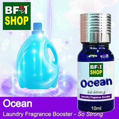 Laundry Fragrance Booster (LFB) - So Strong - Ocean 10ml for Clothes Fabric Laundry Detergent & Fabric Softener