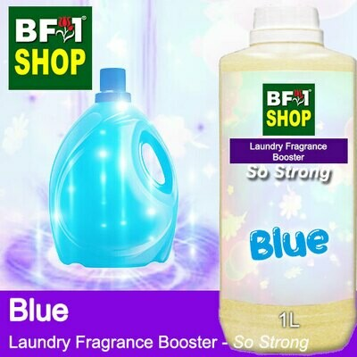 Laundry Fragrance Booster (LFB) - So Strong - Blue 1L for Clothes Fabric Laundry Detergent & Fabric Softener