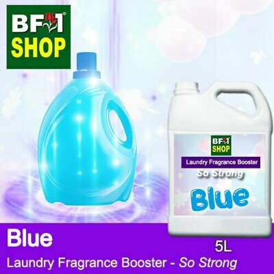 Laundry Fragrance Booster (LFB) - So Strong - Blue 5L for Clothes Fabric Laundry Detergent & Fabric Softener