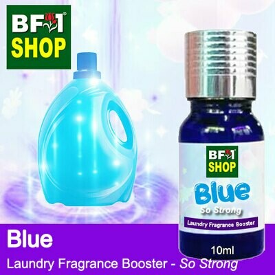 Laundry Fragrance Booster (LFB) - So Strong - Blue 10ml for Clothes Fabric Laundry Detergent & Fabric Softener