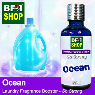 Laundry Fragrance Booster (LFB) - So Strong - Ocean 50ml for Clothes Fabric Laundry Detergent & Fabric Softener