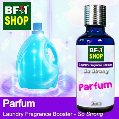 Laundry Fragrance Booster (LFB) - So Strong - Parfum 50ml for Clothes Fabric Laundry Detergent & Fabric Softener