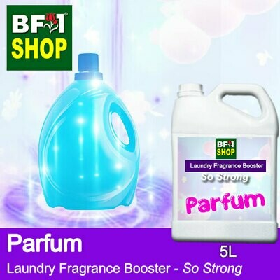 Laundry Fragrance Booster (LFB) - So Strong - Parfum 5L for Clothes Fabric Laundry Detergent & Fabric Softener