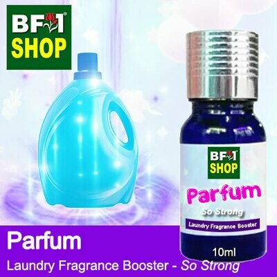 Laundry Fragrance Booster (LFB) - So Strong - Parfum 10ml for Clothes Fabric Laundry Detergent & Fabric Softener