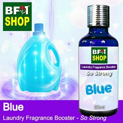 Laundry Fragrance Booster (LFB) - So Strong - Blue 50ml for Clothes Fabric Laundry Detergent & Fabric Softener
