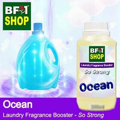 Laundry Fragrance Booster (LFB) - So Strong - Ocean 250ml for Clothes Fabric Laundry Detergent & Fabric Softener