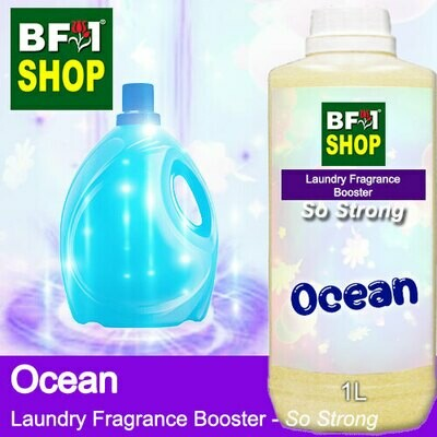 Laundry Fragrance Booster (LFB) - So Strong - Ocean 1L for Clothes Fabric Laundry Detergent & Fabric Softener
