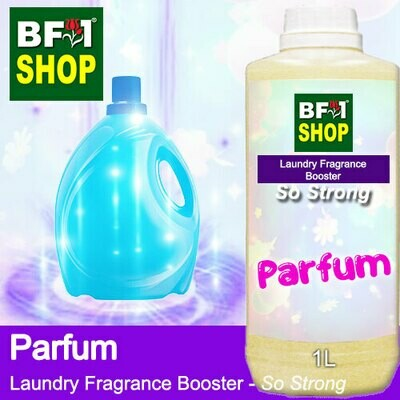Laundry Fragrance Booster (LFB) - So Strong - Parfum 1L for Clothes Fabric Laundry Detergent & Fabric Softener