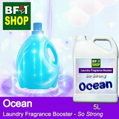 Laundry Fragrance Booster (LFB) - So Strong - Ocean 5L for Clothes Fabric Laundry Detergent & Fabric Softener