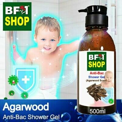 Anti-Bac Shower Gel (ABSG) - Agarwood - 500ml