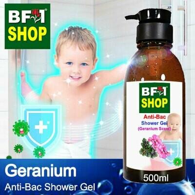 Anti-Bac Shower Gel (ABSG) - Geranium - 500ml