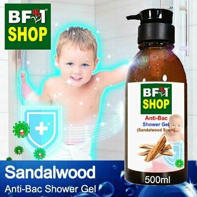 Anti-Bac Shower Gel (ABSG) - Sandalwood - 500ml