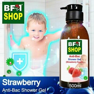 Anti-Bac Shower Gel (ABSG) - Strawberry - 500ml