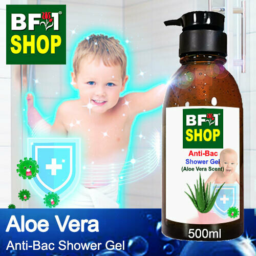 Anti-Bac Shower Gel (ABSG) - Aloe Vera - 500ml