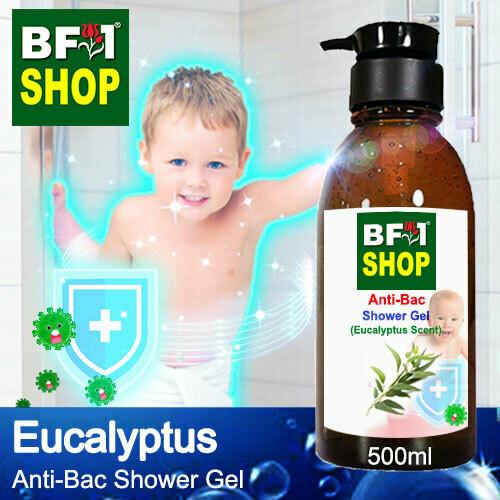 Anti-Bac Shower Gel (ABSG) - Eucalyptus - 500ml