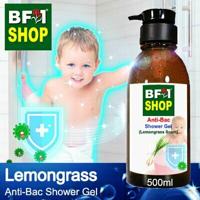 Anti-Bac Shower Gel (ABSG) - Lemongrass - 500ml