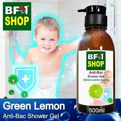Anti-Bac Shower Gel (ABSG) - Lemon - Green Lemon - 500ml