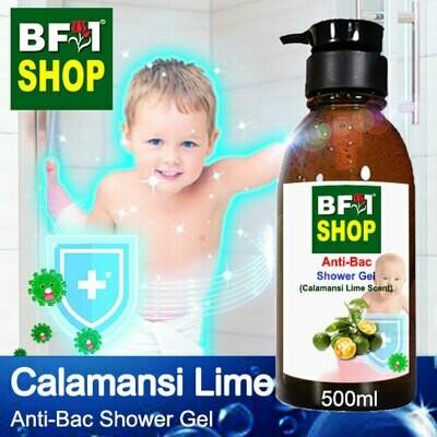 Anti-Bac Shower Gel (ABSG) - lime - Calamansi Lime - 500ml