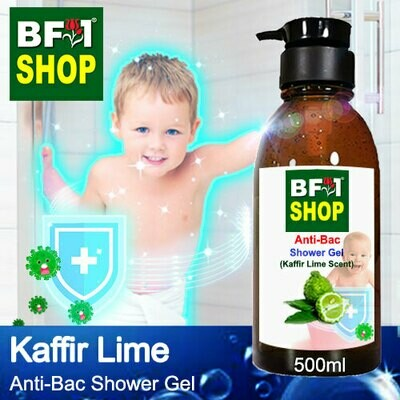 Anti-Bac Shower Gel (ABSG) - lime - Kaffir Lime - 500ml