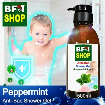 Anti-Bac Shower Gel (ABSG) - mint - Peppermint - 500ml