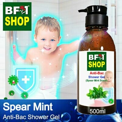 Anti-Bac Shower Gel (ABSG) - mint - Spear Mint - 500ml
