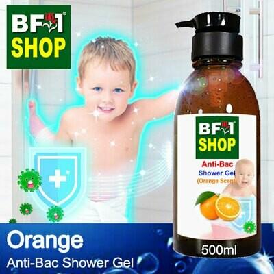 Anti-Bac Shower Gel (ABSG) - Orange - 500ml