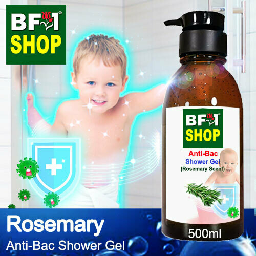 Anti-Bac Shower Gel (ABSG) - Rosemary - 500ml