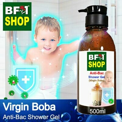 Anti-Bac Shower Gel (ABSG) - Virgin Boba - 500ml